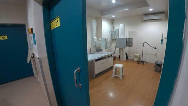 X線検査室