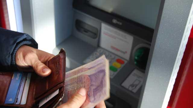 ATMでの送金