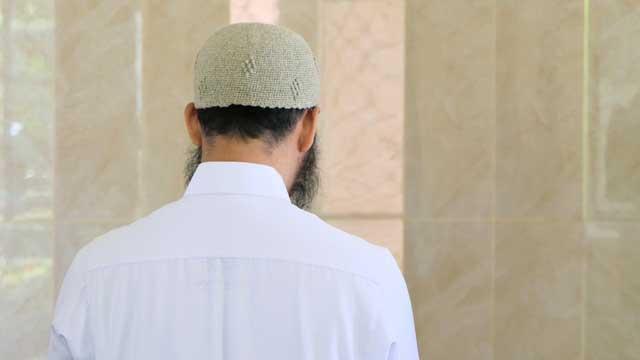 イスラム教徒の男性
