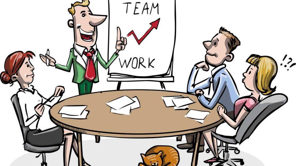 職場での会議