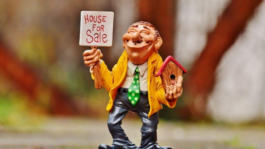 不動産屋で家を探す